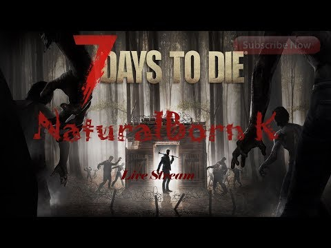 🔴lets work on the minibike  /7 days to die/ War of the walker