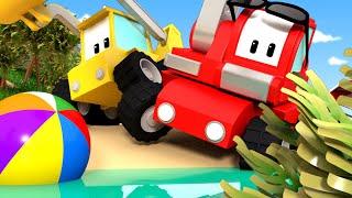 Kleinen Trucks   Die Wüsteninsel - Lerne mit den kleinen Trucks 👶 🚚 Lehrreiche Cartoons für Kinder