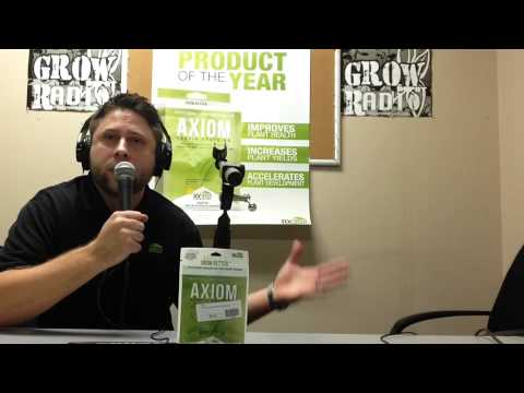 Rx Green Solution's Axiom Review on Grow Depot Radio