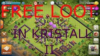 FREE LOOT BASE IN KRISTALL II ?!~Lets play Clash of Clans~[Deutsch-German/HD]