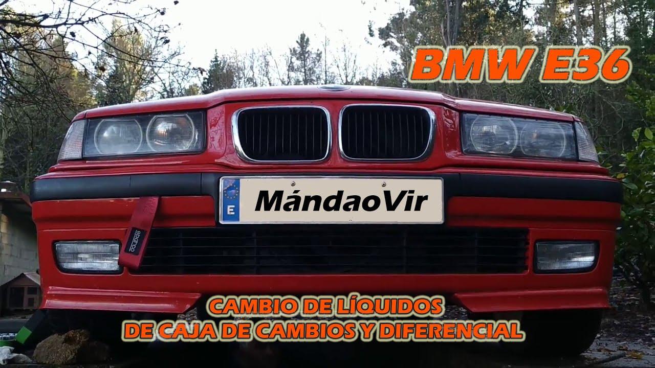 Cambio de líquidos / valvulina de caja de cambios y diferencial | BMW E36