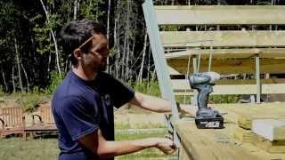 Bench Bracket Installation / Installation d'un support de banc