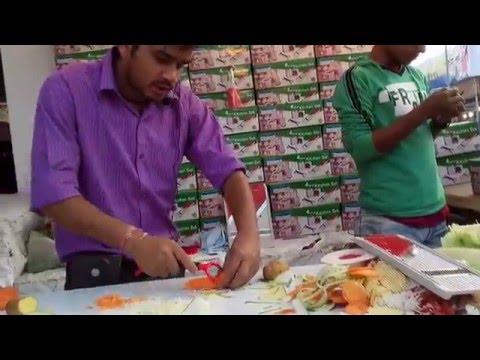 Amazing Vegetables Cutter, Dhaka International Trade Fair 2016