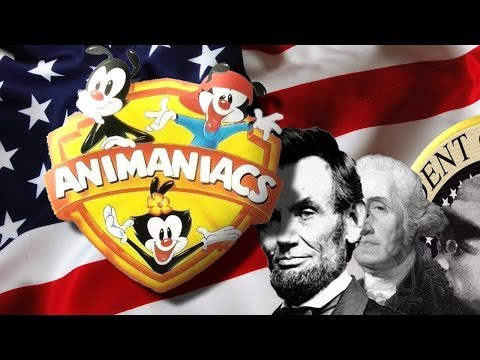 Animaniacs Presidents German with Lyrics