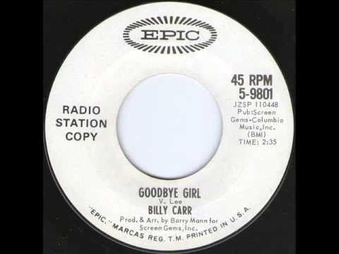 Billy Carr - Goodbye Girl