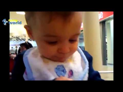 [Video Funny Zin] Baby Eating Lemons for First Time Compilation 2015 720p