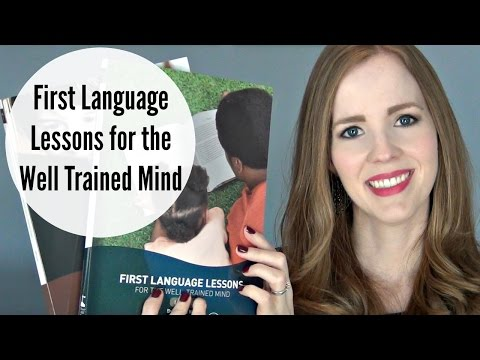 First Language Lessons for the Well Trained Mind Review | 1st Grade Homeschool Language Arts