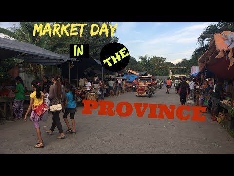Market Day in Lupon, Davao Oriental, Philippines