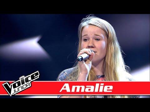 Amalie synger: Nick Jonas - 'Jealous' - Voice Junior / Blinds