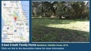 3-bed 2-bath Family Home for Sale in Tavares, Florida on florida-magic.com