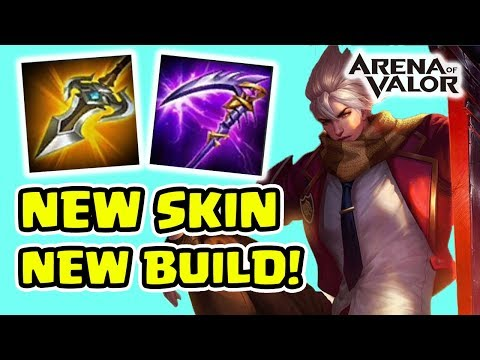 Murad! Skin Baru Build Baru! Anak Sekolahan Super Kece! - Arena of Valor