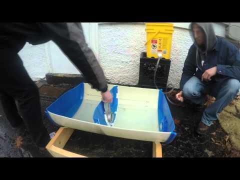 Tidal Barrage Model