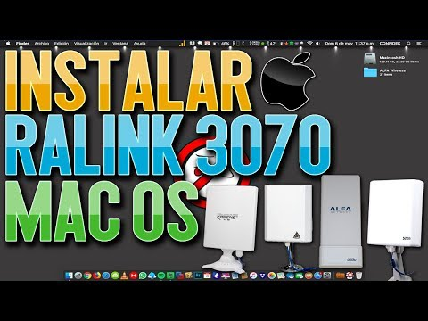 Instalar Driver Ralink 3070 en Mac Os [ALFA Network | Kasens | Signal King  | Melon N4000]