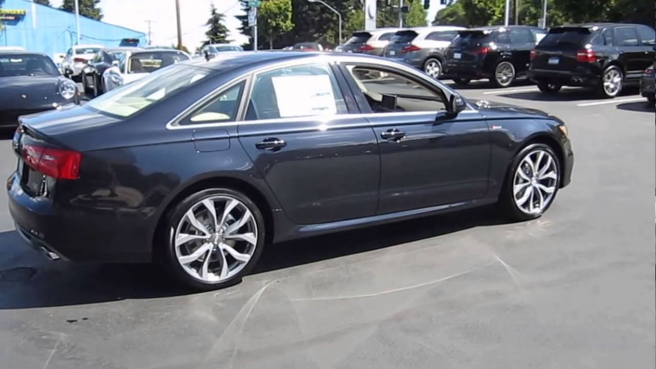 2016 Audi A4 Moonlight Blue Metallic Youtube