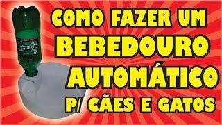 DIY - COMO FAZER UM BEBEDOURO AUTOMÁTICO PARA CÃES E GATOS