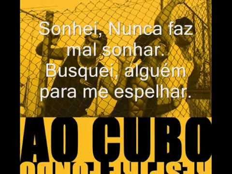 AO CUBO - FILHOS COM LETRA