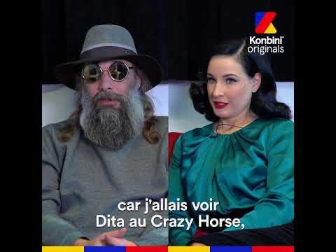 Interview Love - Dita Von Teese x Sébastien Tellier