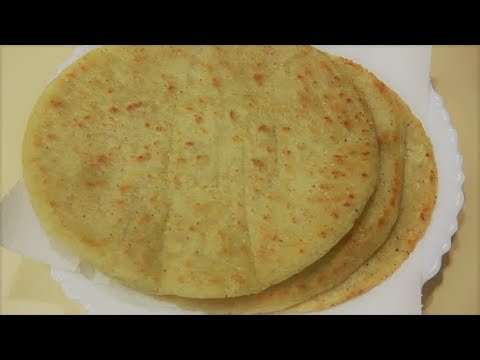 Cornmeal Flat Bread Recipe  نان جواری  تابه یی