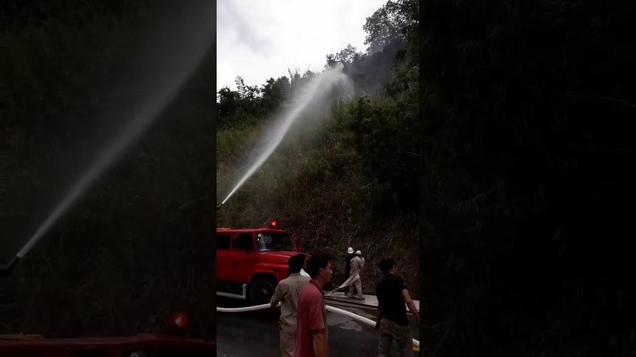 Nhà máy Thuỷ điện Bản vẽ chữa cháy rừng