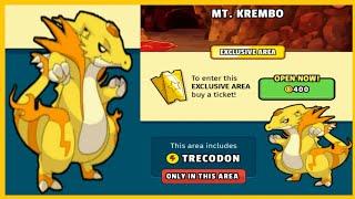 How To Catch Trecodon Pokemon In Dynamons World Game | Two Side Pokemon. screenshot 5