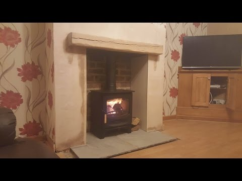 How to install a Charnwood C5 wood burning stove Bromsgrove