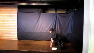2013年1月19日(土)野老澤町造商店:音戯の世界「仮面とギター演奏」から.