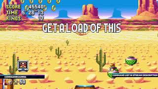 *NEW COMMAND!* Sonic Mania VS Chat (Stream #3)