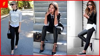 Styling Black Leggings With Pieces You Have Inside Your Wardrobe
