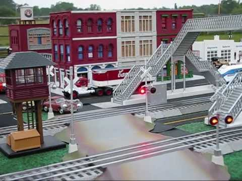 Outdoor O-scale Model Railroading!.wmv