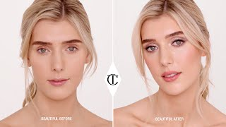 How To Get The Uptown Girl Look With Gorgeous Grey Eyeshadow - 10 Iconic Looks | Charlotte Tilbury