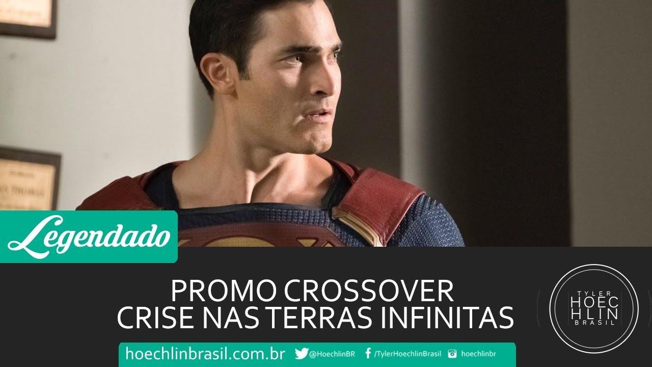 LEGENDADO: Promo Crossover - Crise nas Terras Infinitas