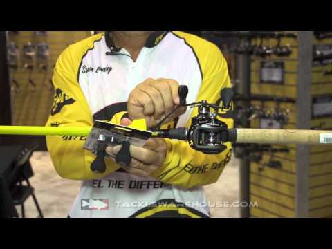 Lew's Rod Speed Socks & Double Power Handle - Stephen Browning | ICAST 2014