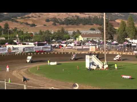 Dominic Scelzi 7/12/14 KWS Heat Race Ocean Speedway Watsonville
