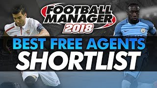 Football Manager 2018: Best Free Agents Shortlist