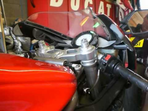 Ducati 999 with motolectric wiring system fitted - YouTube