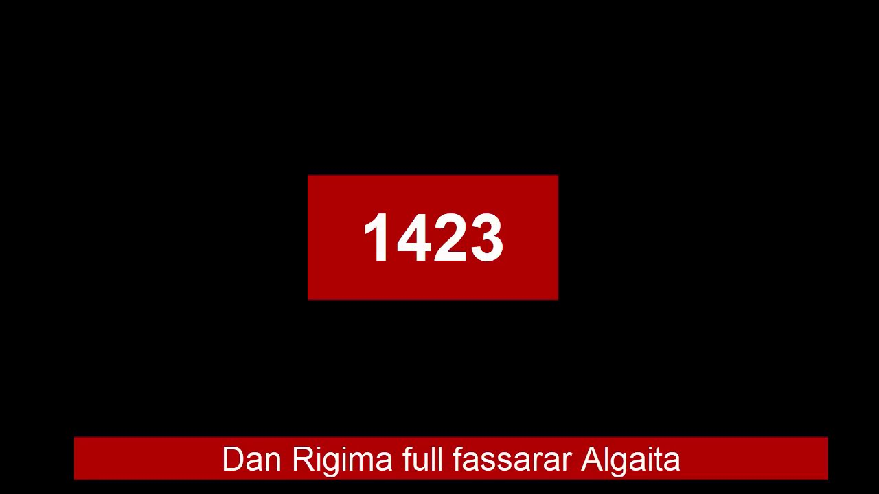 Download Dan Rigima full fassarar Algaita - yadda zaku kalla