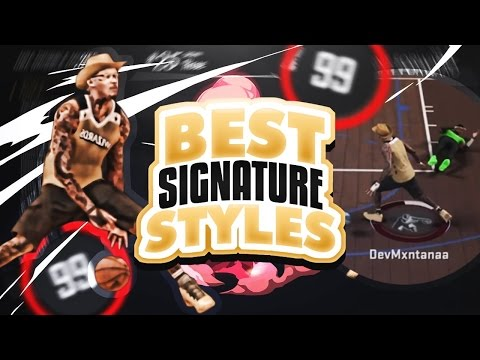 NEW UNSTOPPABLE SIGNATURE STYLES AFTER PATCH 12! 6'8 DEMIGOAT HOOPMIXTAPE/ATTRIBUTE UPDATE! NBA 2K17