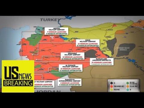 Syria Update: U.S, U.K, France Conduct Massive Missile Strike On Syria