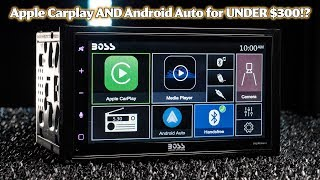 boss Audio BVCP9685A - Exclusive Promo! Apple Carplay and Android Auto for ONLY 239!!!!