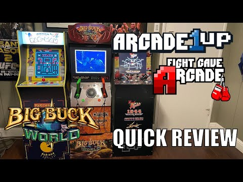 Arcade1UP Big Buck World Hunter Quick Review from Combat and Collecting