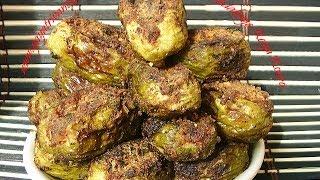 Dondakaya Kaya Koora - Kundru Bharli Curry - Stuffed English Ivy Curry