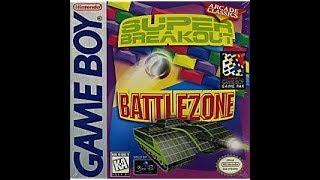Review 587 - Super Breakout/Battlezone (GB)