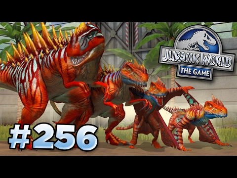 THE NEW STRONGEST HYBRID!!! || Jurassic World - The Game - Ep256 HD