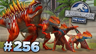 The New Strongest Hybrid!!! || Jurassic World   The Game   Ep256 Hd