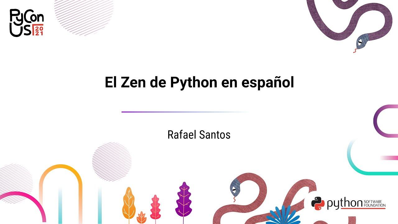 Image from El Zen de Python en español