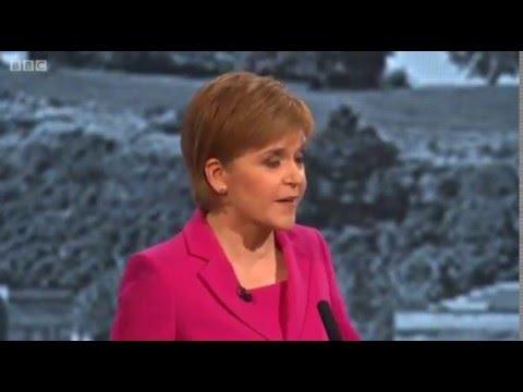 BBC Scottish Leaders Debate - Nicola Sturgeon on fracking - 24/03/2016