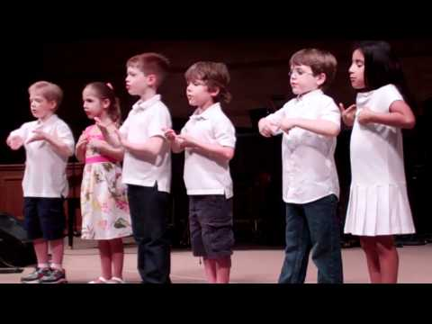 First Baptist Kindergarten Year End Program