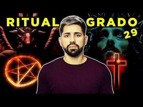 El EXTRAÑO Ritual MASÓNICO Grado 29 - Baphomet o Cristo?
