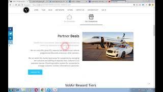 Volair - проект для предоставления частным лицам чартер самолета на технологии блокчейн