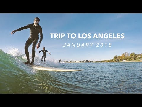 Surfing Venice Beach, Ocean Park, San Onofre and First Point in Malibu